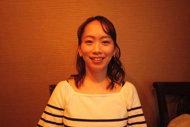 後町陽子さんのインタビュー画面