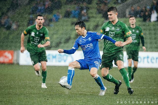 オーストラリアの州リーグチームAvondale FCで選手として活躍する関谷さん