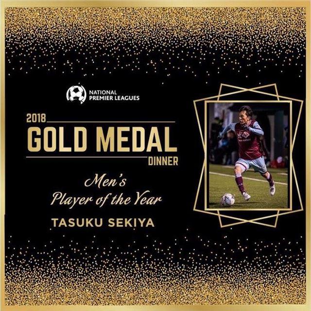 シドニー州1部リーグにて、2018年の最優秀選手賞を獲得。