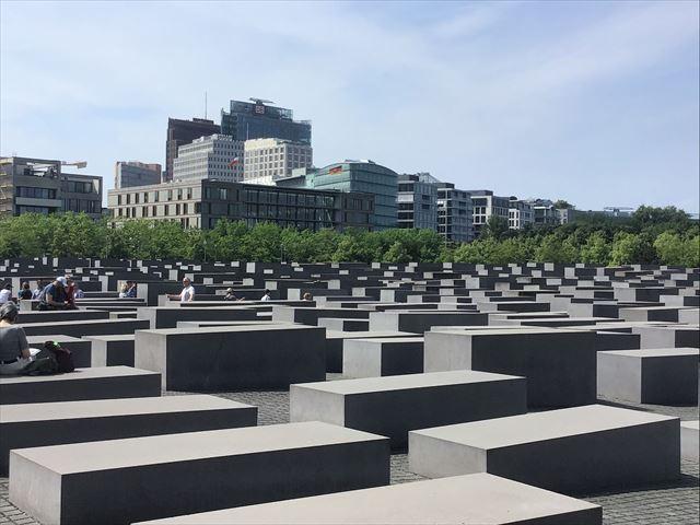 ベルリンにあるホロコースト記念碑