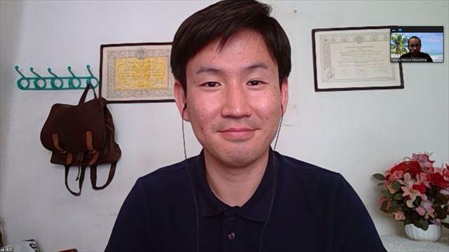 野中さんのインタビュー画面
