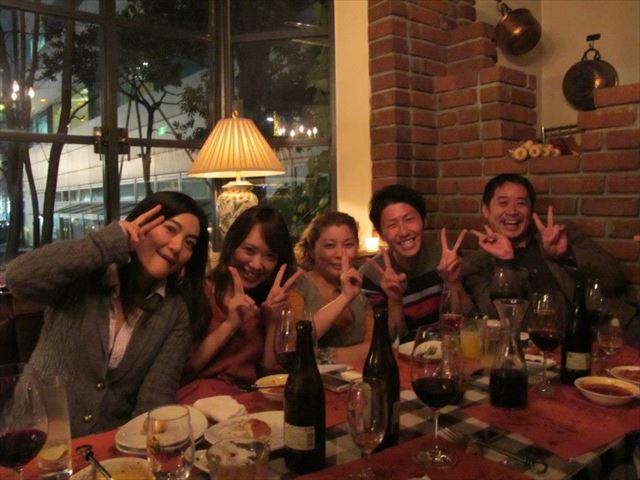 二社目のIT企業の同僚たちとの食事風景