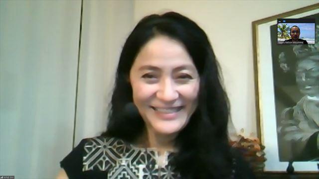 石井さんのインタビュー画面