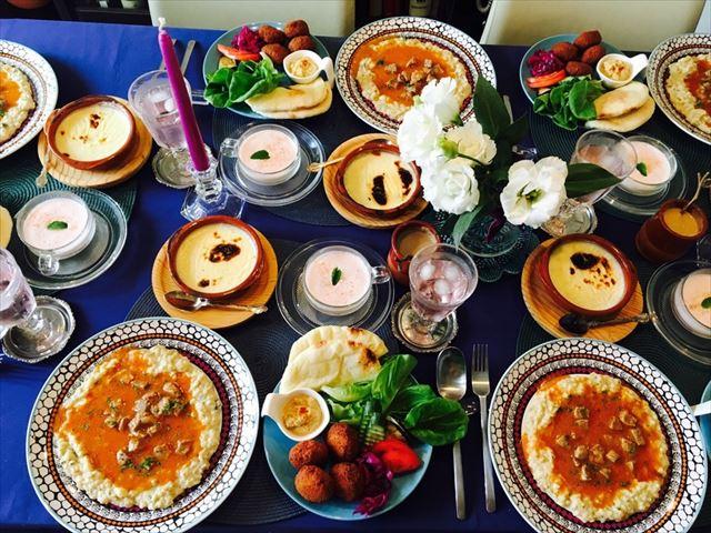 Relishでつくられた華やかな料理たち