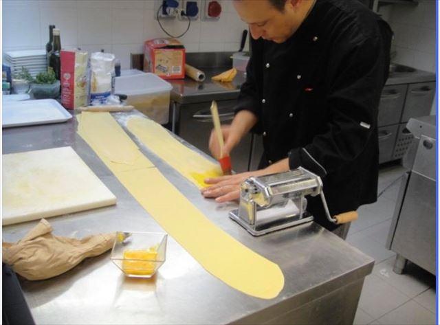 石井さんがイタリアで料理を学んだ先生