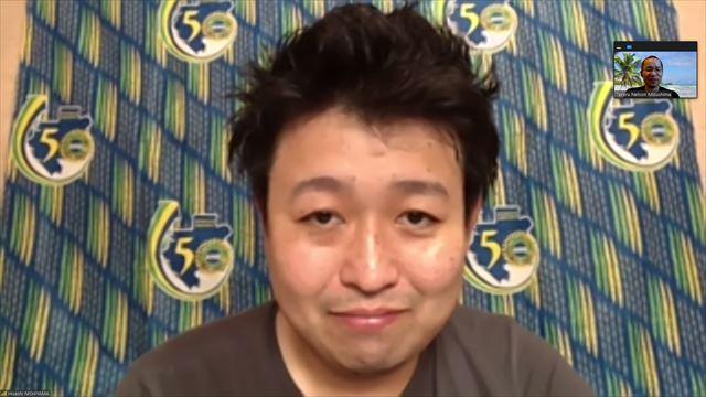 西山さんインタビュー画面